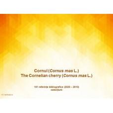 101 referinte bibliografice despre corn (Cornus mas L.) din ultimii 10 ani