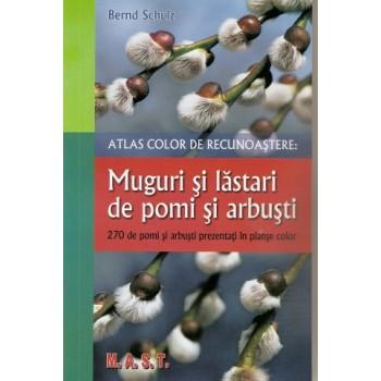 Atlas color de recunoastere: muguri si lastari de pomi si arbusti
