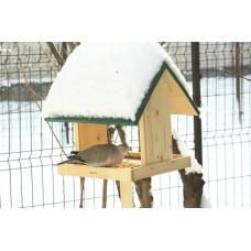 Hrănitoare căsuță pentru păsări
