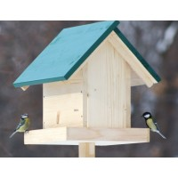 """Hrănitoare pentru păsări sălbatice """"La ceaun"""""""