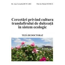 Cercetari privind cultura trandafirului de dulceata in sistem ecologic